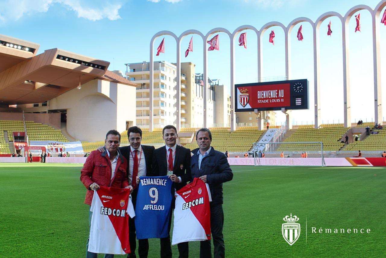 Rémanence premier partenaire régional de l'AS Monaco